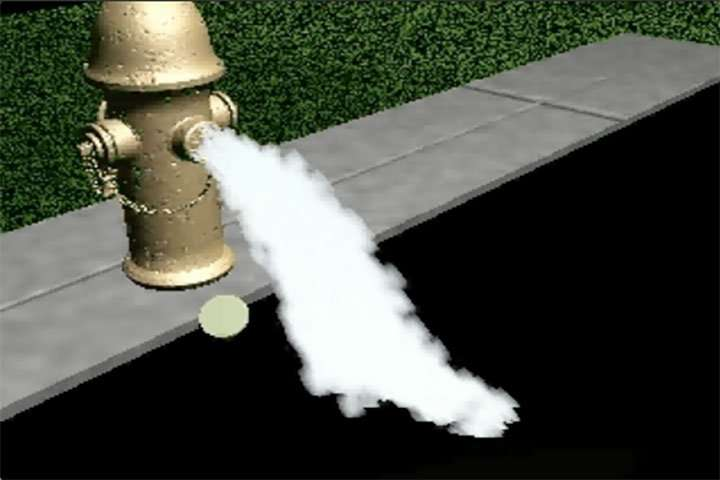 Fire Hydrant Spray