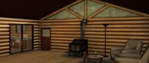 Log Cabin Day Composite