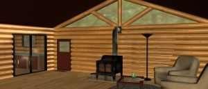 Log Cabin Diffuse Layer